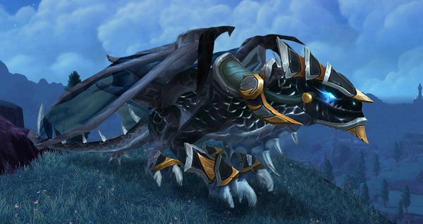 Rênes de saccageur temporel infini monture WoW Warlords of Draenor
