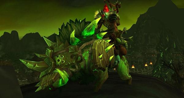 Sanglier gangrené mort-défense - Monture World of Warcraft