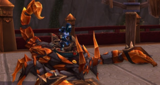 Rênes de scorpion ambre - Monture WoW MoP - World of