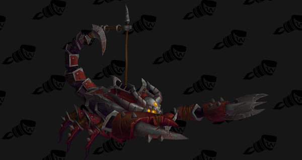 Scorpion de guerre vicieux - Monture World of Warcraft