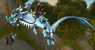 Serpent-nuage du gladiateur malveillant - Monture World of Warcraft