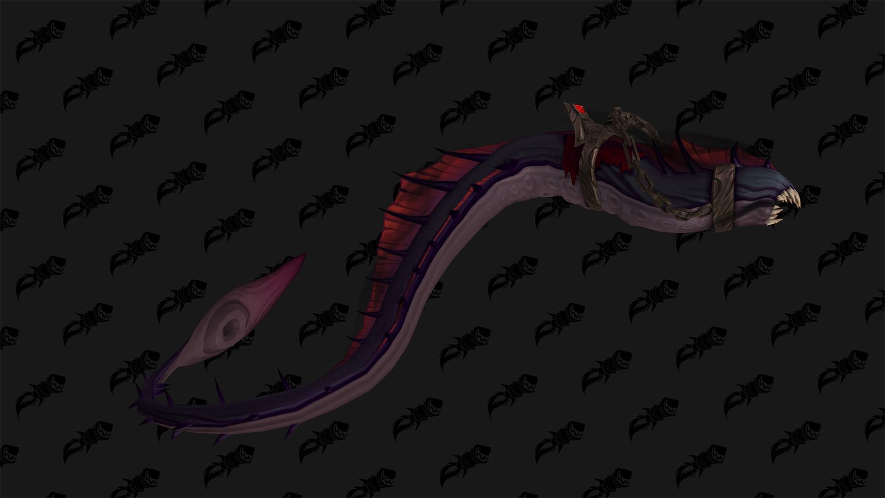 Serpent noir de N'Zoth, monture du patch 8.3
