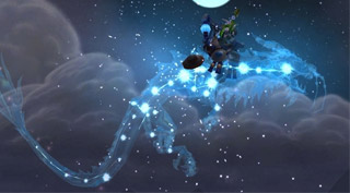 Rênes de serpent-nuage astral - Monture World of Warcraft