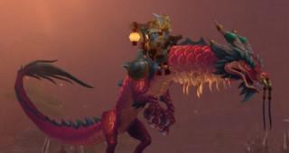 Rênes de serpent-nuage cramoisi - Monture World of Warcraft