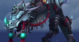 Serpent-nuage du gladiateur tyrannique - Monture World of Warcraft