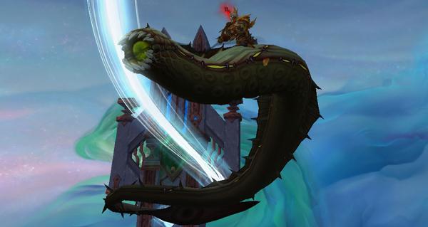 Serpent visqueux - Monture World of Warcraft