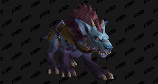 Sombredogue suture-de-guerre - Monture World of Warcraft
