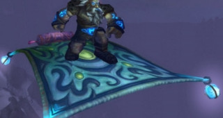 Tapis volant givré monture WoW Wrath of the Lich King