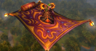 Tapis volant magnifique - Monture World of Warcraft