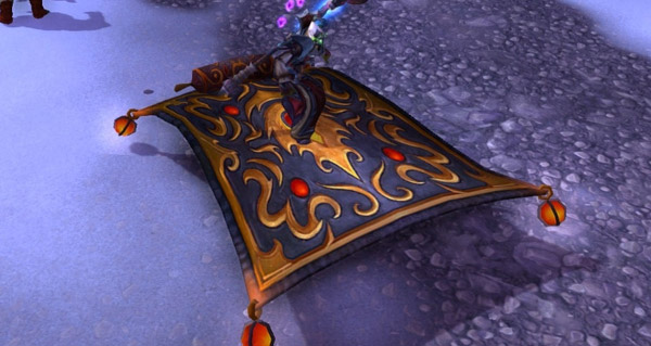 Tapis rampant - Monture World of Warcraft