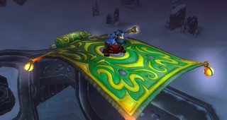 Tapis volant - Monture World of Warcraft
