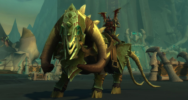 Tauralus peste-putride cuirassé - Monture World of Warcraft