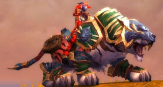 Rênes de tigre de monte pandashan vert - Monture World of Warcraft