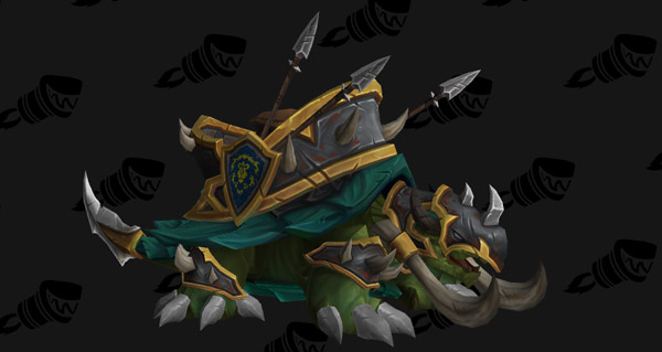 Tortue de guerre vicieuse - Monture World of Warcraft