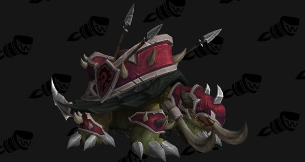 Tortue de guerre vicieuse (Horde) - Monture World of Warcraft
