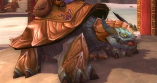 Rênes de tortue-dragon bleue - Monture World of Warcraft