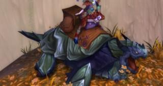 Rênes de tortue-dragon noire - Monture World of Warcraft