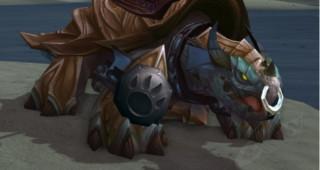 Rênes de grande tortue-dragon bleue - Monture World of Warcraft