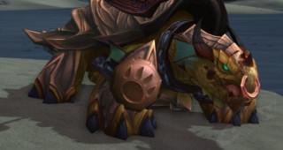 Rênes de grande tortue-dragon brune - Monture World of Warcraft