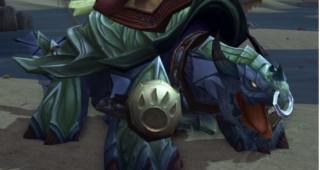 Rênes de grande tortue-dragon noire - Monture World of Warcraft