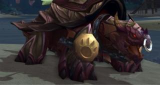 Rênes de grande tortue-dragon violette - Monture World of Warcraft