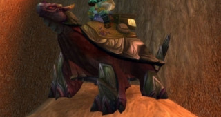 Rênes de tortue-dragon violette - Monture World of Warcraft