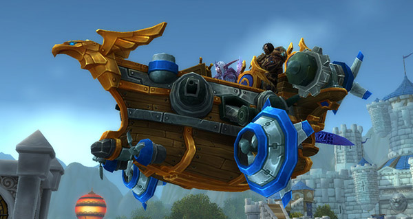 Traque-ciel de Hurlevent - Monture World of Warcraft