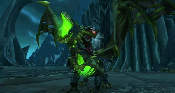 Vainqueur couvepeste de seigneur de la mort - Monture World of Warcraft