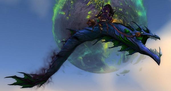 Ver énigmatique de l'esprit - Monture World of Warcraft