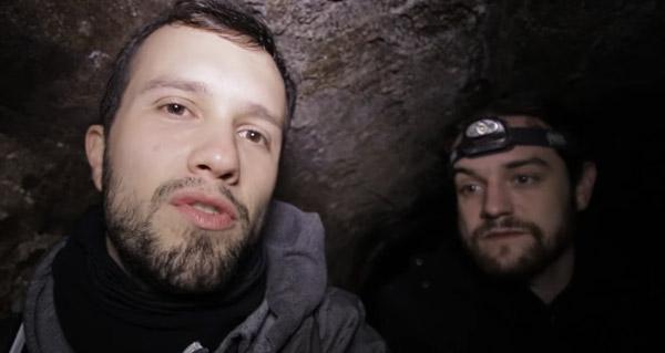 exploration : en kayak dans les souterrains d'un palais militaire