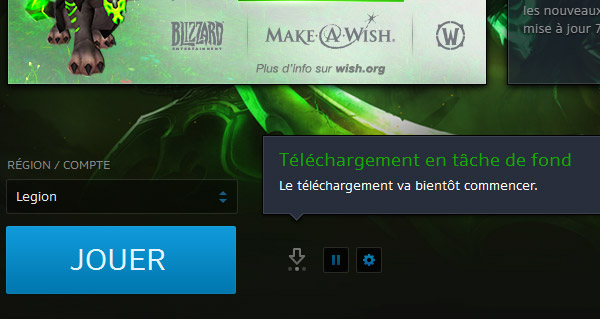 le patch 7.1.5 de wow disponible pre-telechargement