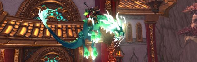 Monture Serpent-nuage Yu'lei, fille du jade récompense des Excursions temporelles en Pandarie