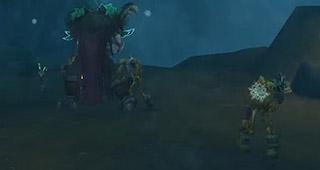 Ymiron invoque des guerriers au cours du combat