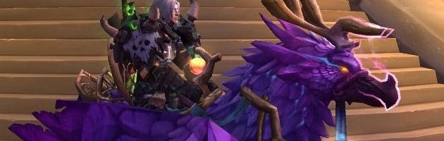 Terminer le méta haut faut Gloire au héros de Legion vous octroie une magnifique monture