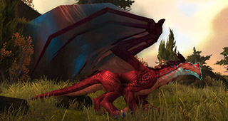Le drake-tempête de l'entrée doit tous les tuer