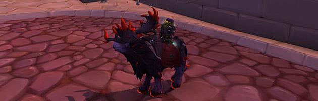 Les rênes profanées sont la récompense du méta Gloire à l'écumeur de raids de Legion