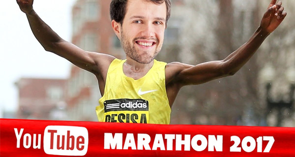 defi marathon youtube : 1 video par jour pendant 1 mois