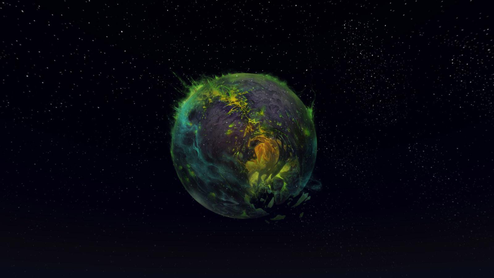 La planète Argus peut être aperçue par tous à Dalaran