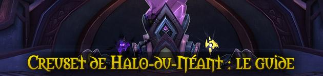 Creuset de Halo-du-Néant : améliorez vos reliques d'armes prodigieuses