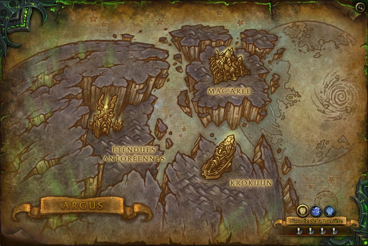 Argus patch 7.3 : le guide complet de la zone Argus-carte-wow