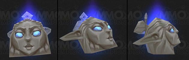 Le flotteur enchanté permet de remplacer le flotteur habituel par une statue elfe enchantée