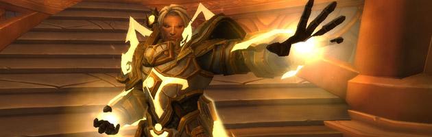 Le grand Exarque Turalyon est le chef de l'armée de la Lumière