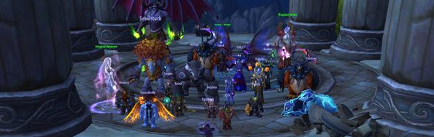 La guilde Wait for it terrasse Kil'jaeden en mode mythique (9/9)