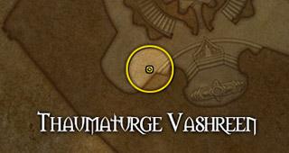 Vashreen se trouve sur le Vindicaar