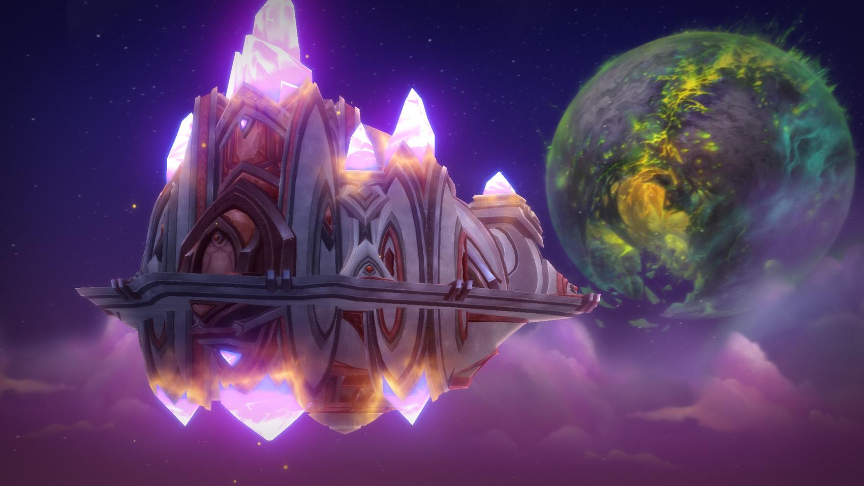 Vous arrivez sur la planète Argus à bord du Vindicaar