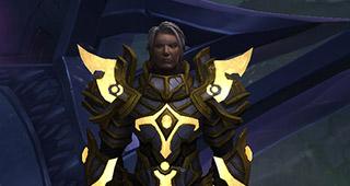 Turalyon, le chef de l'armée de la Lumière
