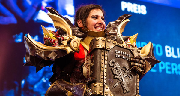 gamescom 2017 : kiilys grande gagnante du concours cosplay