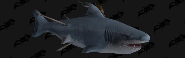 Mascotte Requin fantôme