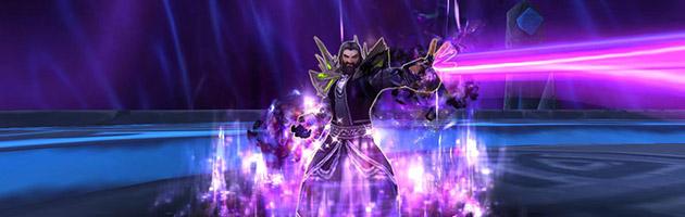 L'Archimage Xylem utilise plusieurs écoles de magie au cours du combat