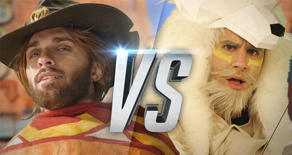 overwatch rap battle : la nouvelle video musicale de squeezie